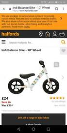 Balance bikes for kids free delivery in Bridgend area