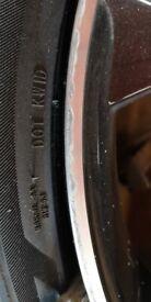 Alloy wheel repair fix refurbish paint straighten strip dent weld crack colour change