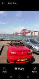 Red Mgf for sale 1996
