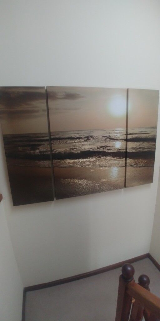 large 3 part canvas next in dundee gumtree