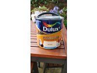Dulux Soft Peach 2.5L Easycare Emulsion Paint - opened