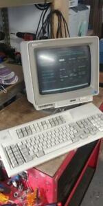 IBM3477 COLOR TWINAX TERMINAL AS400 ISERIES W 122 KEYB