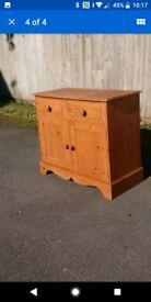 Old Pine Cabinet /Sideboard