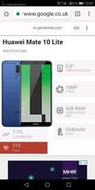 Huawei Mate 10 Lite RNE-L21 inBlack(DUAL SIM)