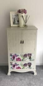 Multipurpose Talbot cabinet handpainted