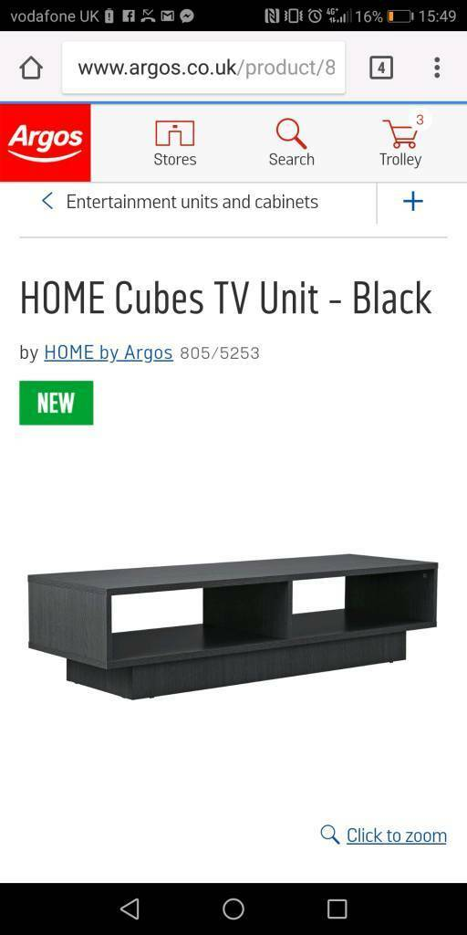 New TV unit