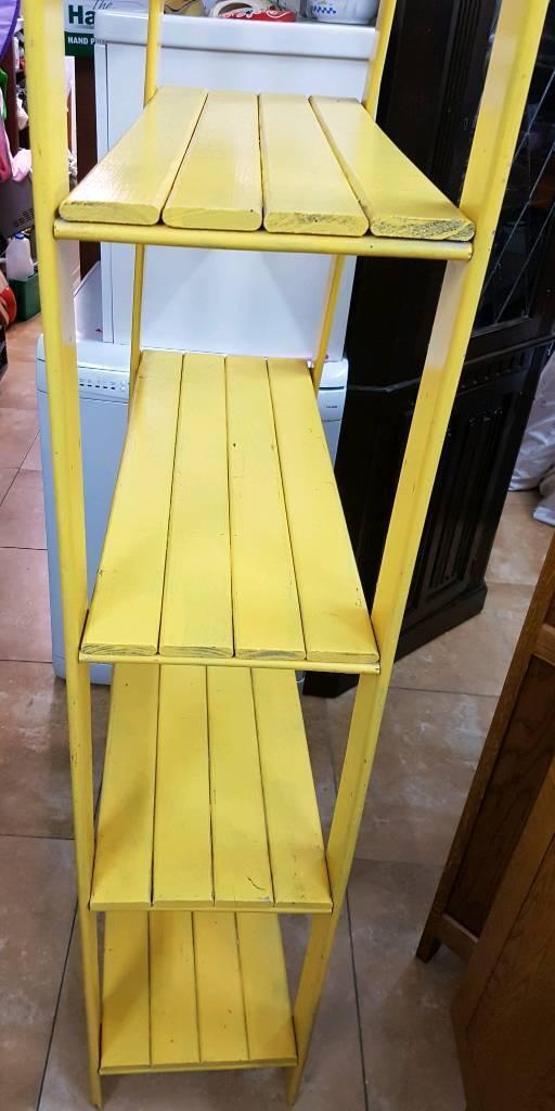 Yellow Shelf H172cm W75cm D31cm