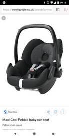 Mamas and papas zoom pushchair with maxi cosi pebble