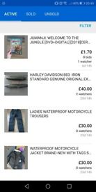 motorcycle jacket and trousers BNWT
