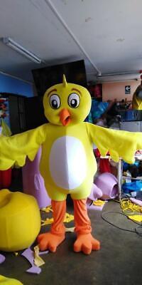 Little Yellow Chickadee Character Lottie Dottien Chicken Mascot Costume Cosplay
