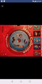 Disney book set with cd