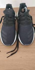 Adidas boost black trainers size 11