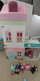 Dolls house and pet shop