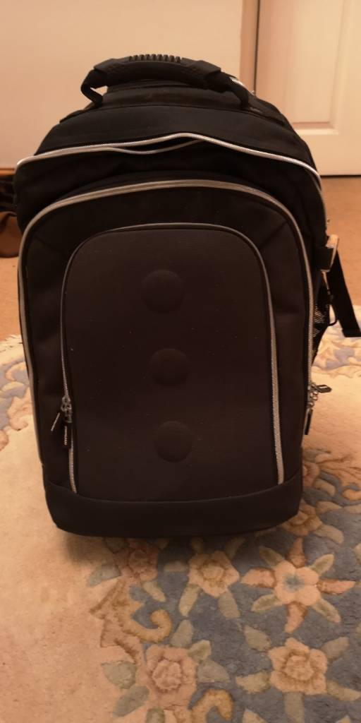 7c42f4971f18 Ikea family cabin bag on wheels with detachable rucksack vgc