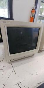 IBM 3151-610 38F5104 Amber ASCII Display, Great Screen RS6000, No Keyboard
