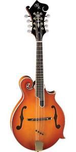 NEW Michael Kelly MKLELEAAB Legacy Elegante Mandolin, Antique Amber Burst