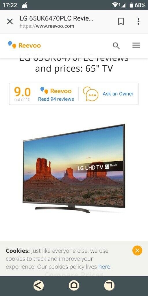 "Brand New, LG 65"" TV AI UHD THINQ | in Exeter, Devon | Gumtree"