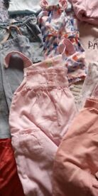 Bundle of 6-9 mths baby cloths, all clean