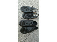Child's jazz/stage shoes, black size 9 and 10
