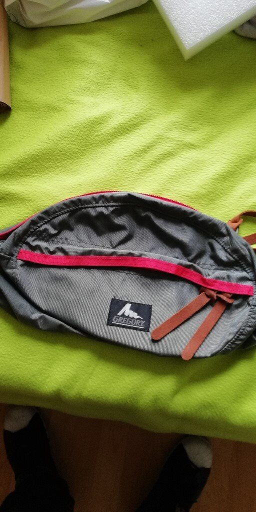 GREGORY Huge practical ---- bum bag fanny pack zipbag waistpack