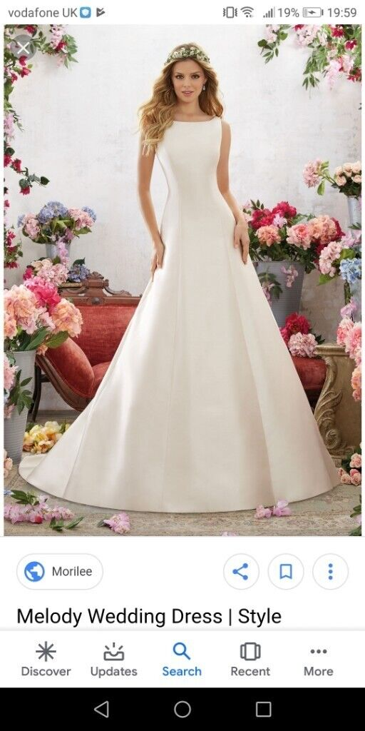 680be3e6f Mori Lee Wedding Dress New size 12   in Portslade, East Sussex ...