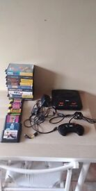 Sega Megadrive 2 Console With 15 Games