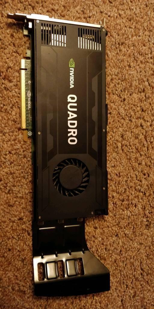 NVIDIA Quadro K4000 graphics card - Quadro K4000 - 3 GB Series