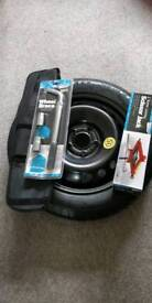 Nissan leaf space saver tyre