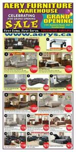 WHOLESALE FURNITURE WAREHOUSE LOWEST PRICE GUARANTEED WWW.AERYS.CA mattress starts from $45