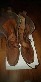 Ralph Lauren designer boots sz 10