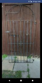 Used iron gate
