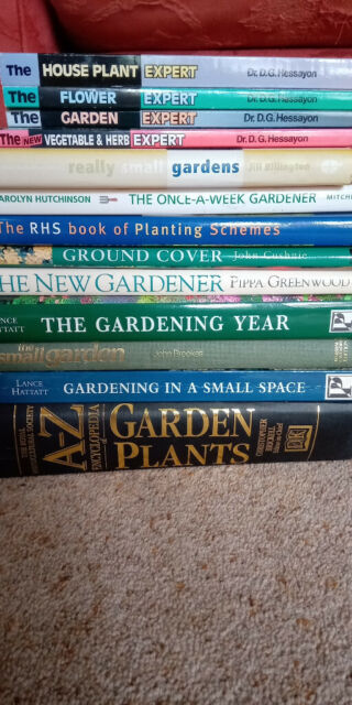 Image result for a pile of garden books