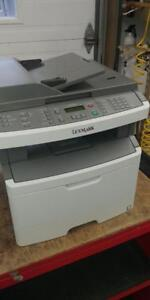 Lexmark X264dn All-In-One Laser Printer Only 83K Printed w/ toner