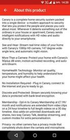 Canary all in one home security system