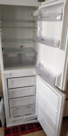 Built-in Whirlpool fridge freezer - (HxBxW - 177x53x52), pick up only, price negotiable