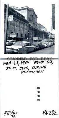 Mar 1964 Penn Station New York City During Demolation VINTAGE RAILROAD PHOTO](Penn Mar)