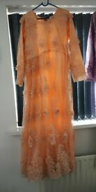 New fashion long Asian dress