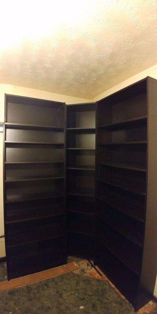 Black BILLY IKEA Bookcase/Shelving/Shelf Units