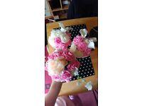 Artificial flowers bridal bouquets