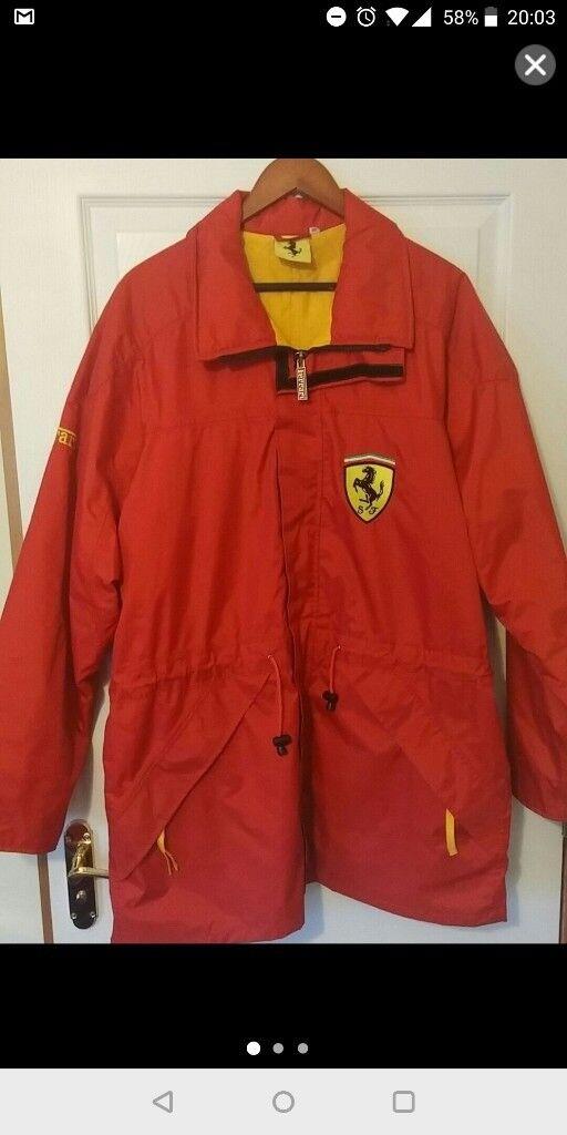 Ferrari waterproof jacket