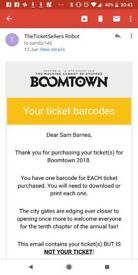 Boomtown Fair Festival - Full weekend ticket