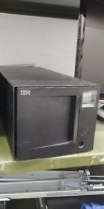 IBM 3581-L23 3581 Ultrium LTO-2 Tape Autoloader SCSI LVD w/ Cable & Adapter LTO