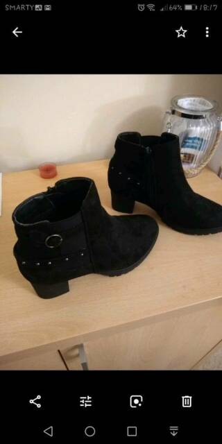 9353391c3 Girls suede ankle boots size 2. (new) | in Chorley, Lancashire | Gumtree