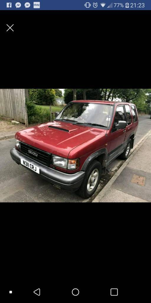 isuzu trooper 3.1td | in filey, north yorkshire | gumtree