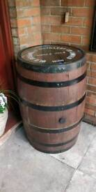 Bushmills oak whiskey barrel