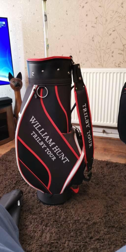 d3d7aea07ca3 William Hunt trilby tour golf bag + FREE GIFT