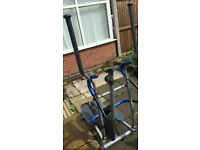 cross trainer not used + abs sit up cruncher free