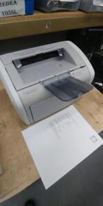 HP LaserJet 1020 Laser Printer with toner