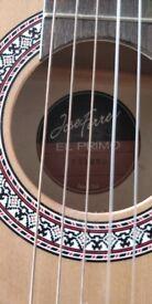 Full size Jose Ferrera ecoustic guitar