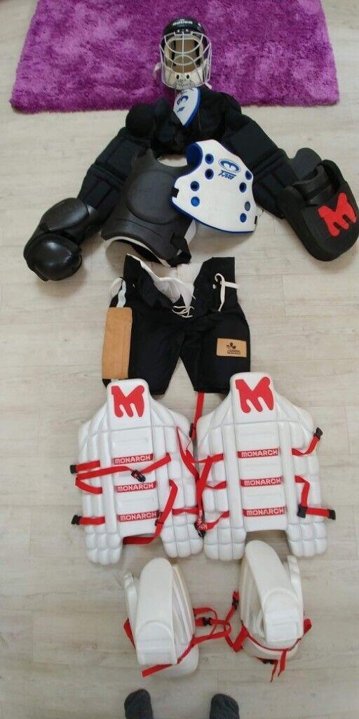 Mercian, Monarch and Bauer Field Hockey goalkeeper goalie body armour kit,  excellent condition  | in Ringwood, Hampshire | Gumtree